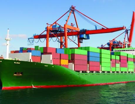 Cargo ship_green