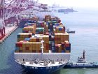Container harbour Industrial Ship