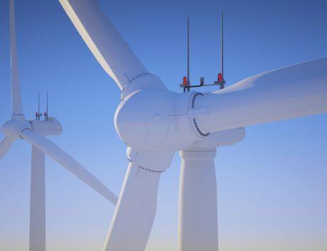 Wind turbine sky power