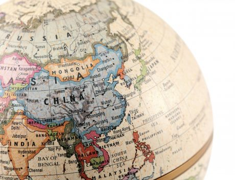 Asia China Globe