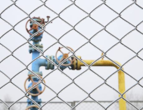 Gas valve oil industry