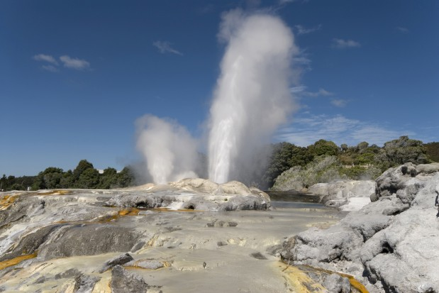 Geothermal Power Plant New