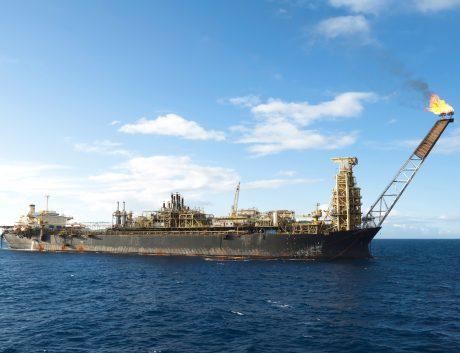 Oil rig tanker Brazil