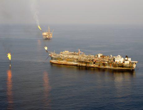 Oil rig vessel industrial ship Nigeria