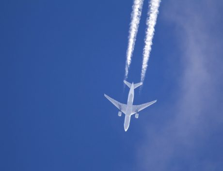 Commercial Airplane Air Sky