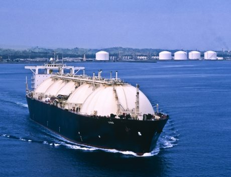 Asia LNG Tanker