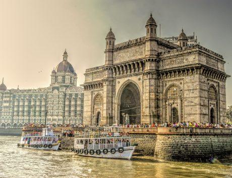 Mumbai India Monument HDR