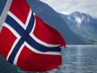 Norway Fjord Norwegian Flag Landscape