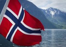 Norway Fjord Norwegian Flag Landscape
