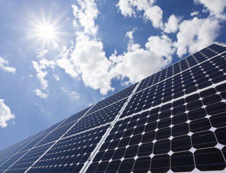 Solar panels Power Station