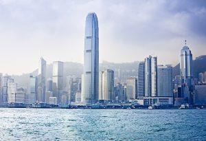 Hong Kong Harbor Skyline