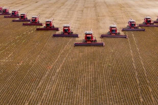 Tractor Field Brazil Farmer