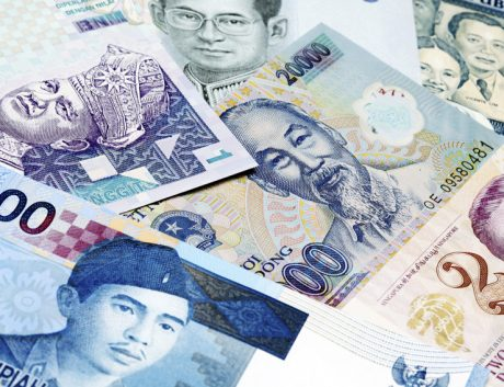 Various South-East Asian currency
