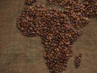 Africa Map Linen Coffee Bean1