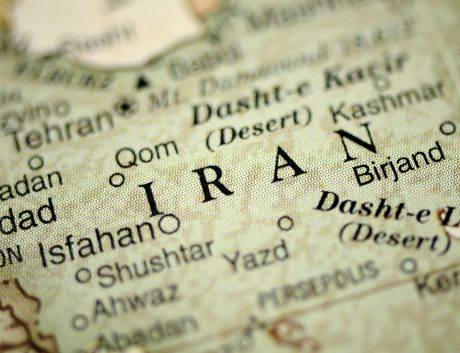Iran Map Tehran Cartography