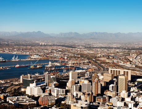 South Africa Cape Town City Harbor_small