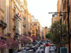 Downtown Beirut looking up Allenby STret to the clock tower