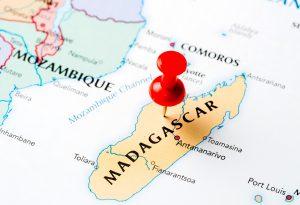 Map Madagascar