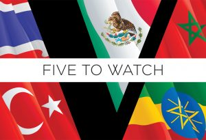 Five to watch cover feature