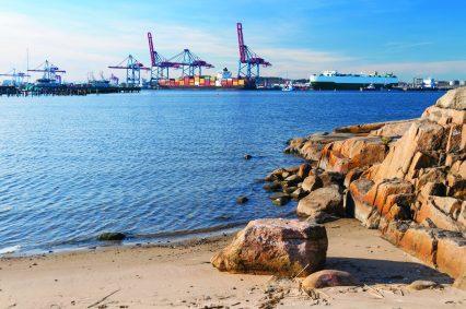 Gothenburg Harbour Sweden