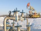 Oil pump jack Russia