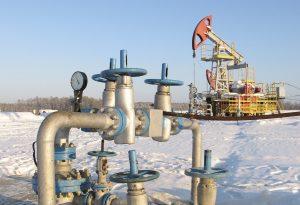 Oil pump jack Russia