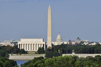Washington DC skyline capitol