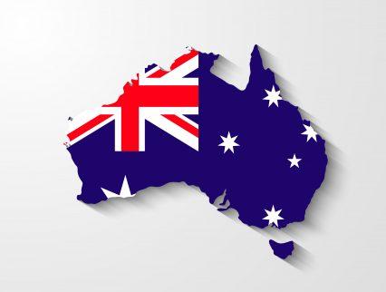 Australia continent flag