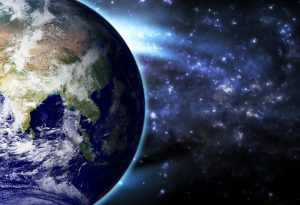 Earth Blue Stratosphere Asia India