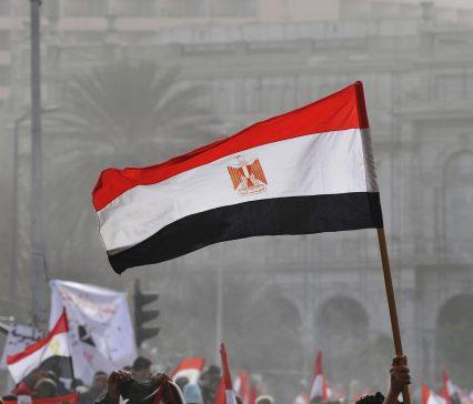 Egypt flag Tahrir square