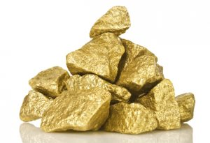 Gold Nugget Metal ore Stone