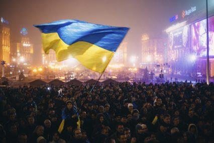 Maidan protest Nezalezhnosti Kiev Ukraine