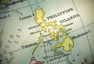 Philippine Islands World Map