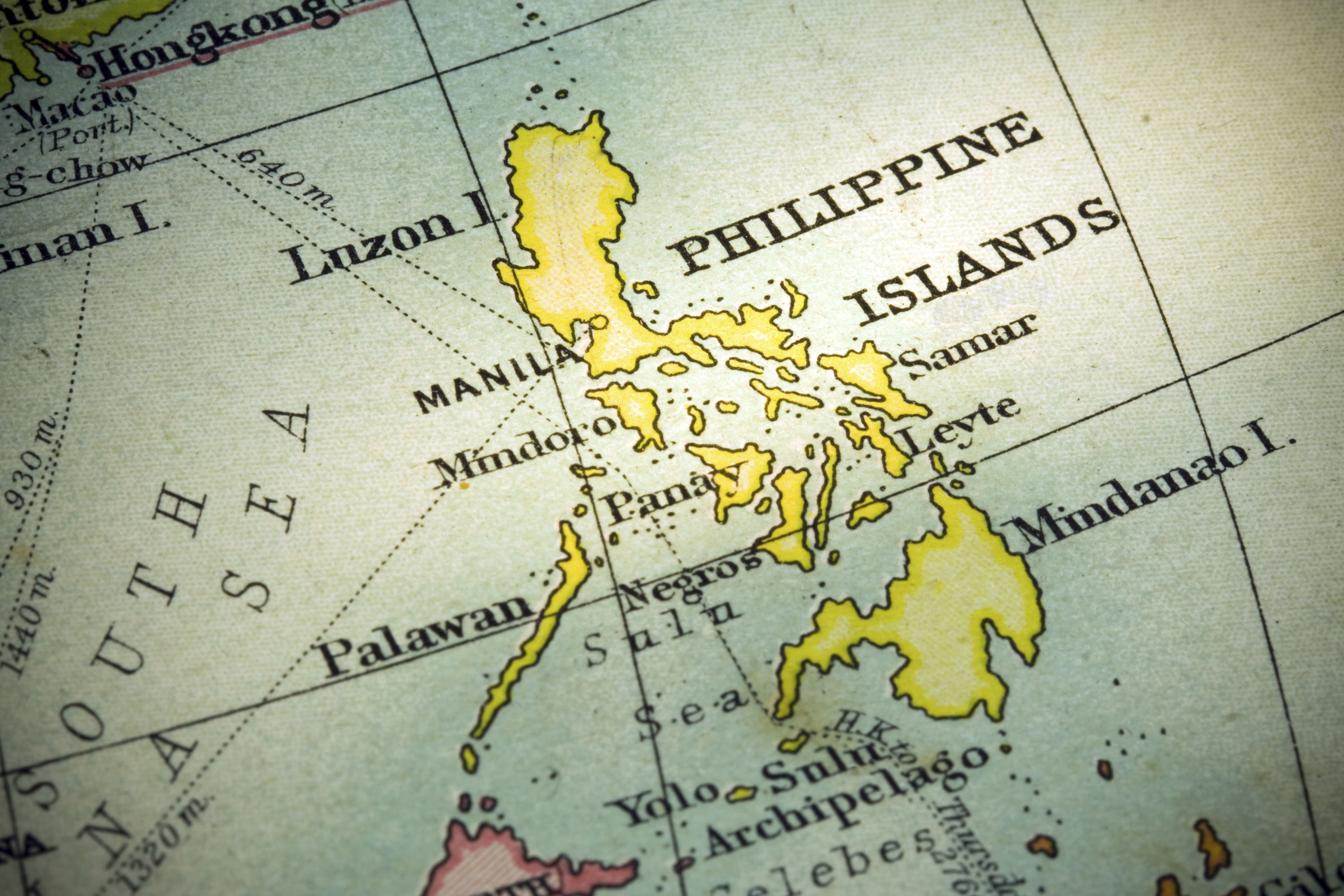 Philippine Islands World Map | Global Trade Review (GTR)