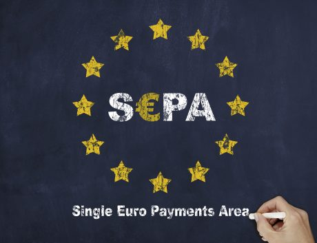 SEPA European Union Flag Finance