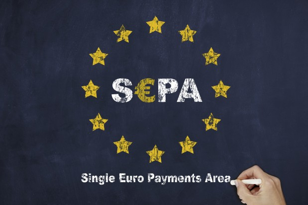 SEPA European Union Flag Finance