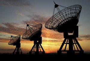Satelite Dishes Communication