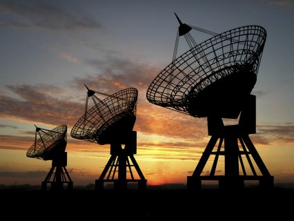 Satelite Dishes Communication