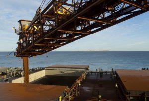 Ship Loader Mining Iron Ore