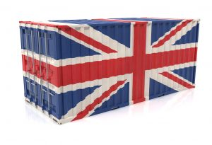 United Kingdom Export Cargo Container