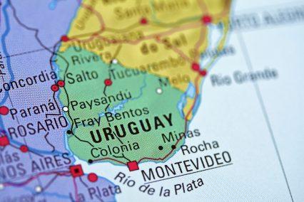 Uruguay Montevideo Map