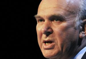 Vince Cable The Liberal Democrat Party Conference