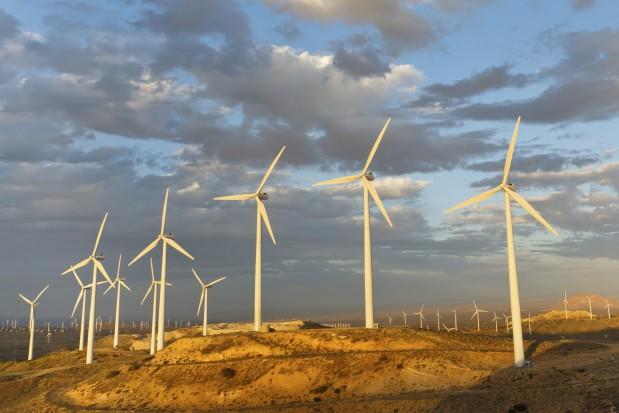 Wind turbine Landscape California