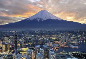 Yokohama mountain Fuji Tokyo Japan