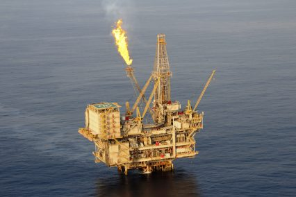 Africa Oil Rig