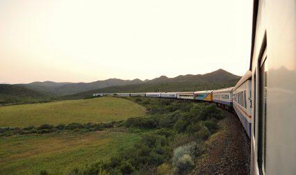 Africa Train Railroad Track