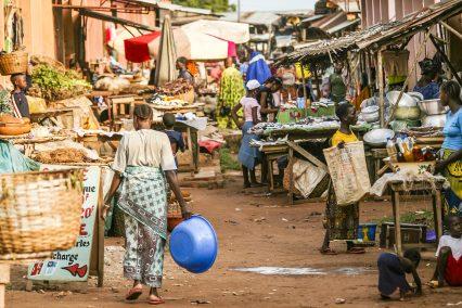Ethiopia Africa market people street