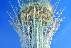 Baiterek tower Astana Kazakhstan