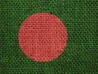 Bangladesh textile flag