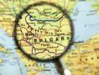 Bulgaria Sofia map magnifying glass